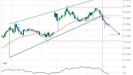 AUD/USD Target Level: 0.7304