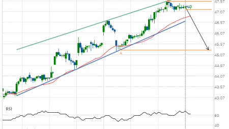 Cisco Systems Inc. Target Level: 45.29