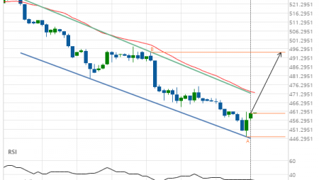 Wheat MAY 2019 Target Level: 494.5000