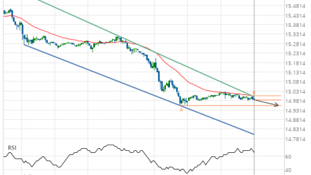 Silver MAY 2019 Target Level: 14.9550