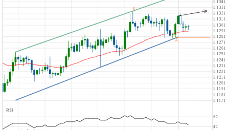 EUR/USD Target Level: 1.1325