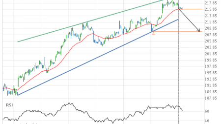 Will Home Depot Inc. have enough momentum to break support?