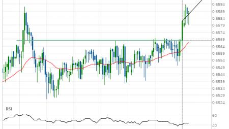 NZD/USD up to 0.6600